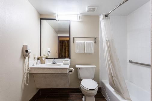 圣彼得斯堡红屋顶酒店 - 克利尔沃特/机场 - 克利尔沃特 - 浴室