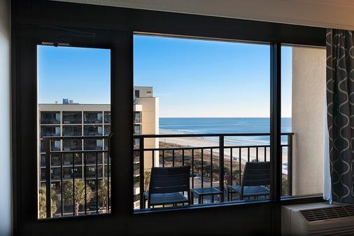 美特尔海滩希尔顿逸林酒店 - 默特尔比奇 - 阳台