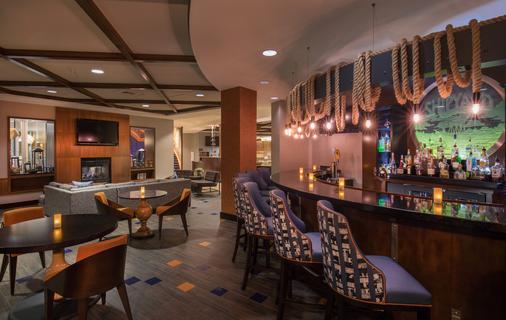 波特兰市中心海滨万豪长住酒店 - 波特兰 - 酒吧