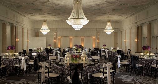 波士顿市中心万怡酒店 - 波士顿 - 宴会厅